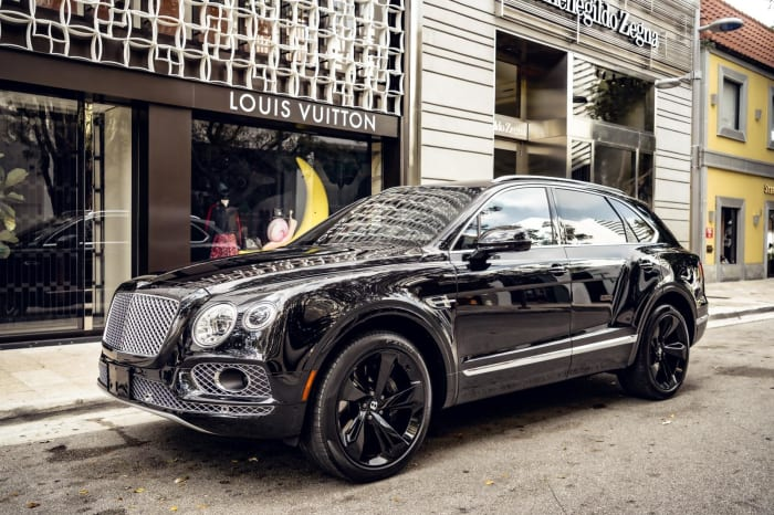 Image #0 of our 2021 Bentley Bentayga Starlight (Black/Black) In Miami Fort Lauderdale Palm Beach South Florida