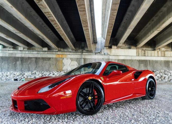 Image #0 of our 2018 Ferrari 488 Spyder (Convertible) (Red) In Miami Fort Lauderdale Palm Beach South Florida
