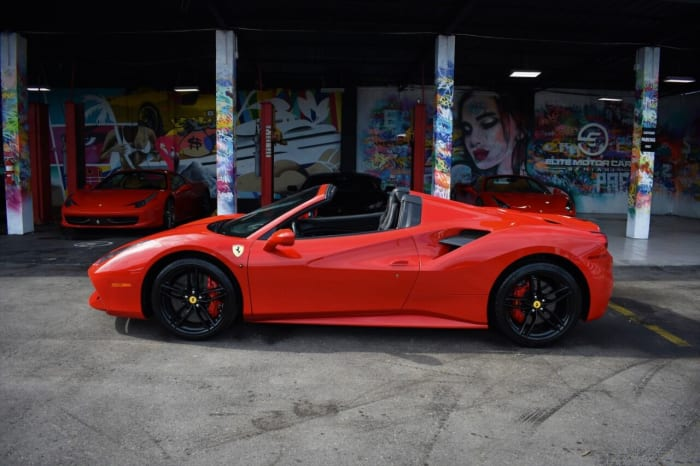 Image #4 of our 2018 Ferrari 488 Spyder (Convertible) (Red) In Miami Fort Lauderdale Palm Beach South Florida