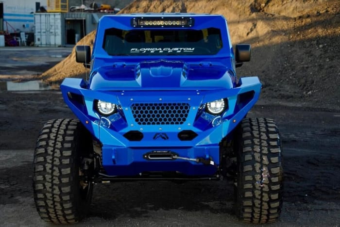 Image #1 of our 2018 Jeep Gladiator  (Blue) In Miami Fort Lauderdale Palm Beach South Florida