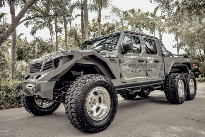 Image #2 of our 2018 Jeep Gladiator 6x6 (Gray) In Miami Fort Lauderdale Palm Beach South Florida