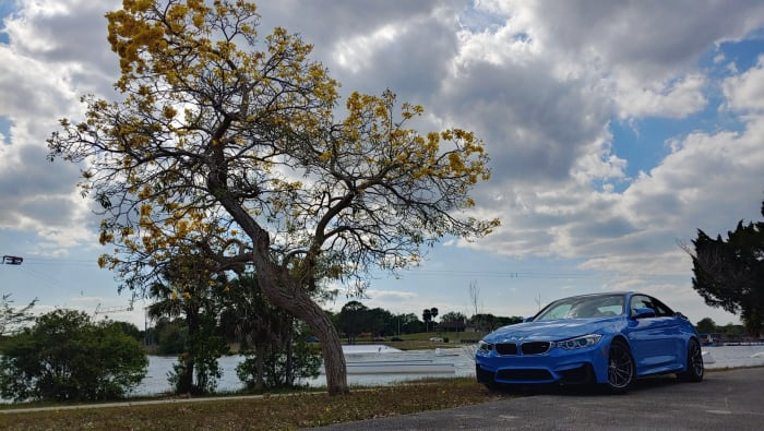 Image #1 of our 2015 BMW M4 Manual Transmission (Yas Marina Blue) In Miami Fort Lauderdale Palm Beach South Florida