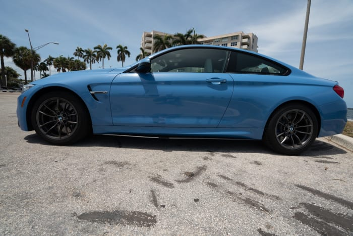 Image #4 of our 2015 BMW M4 Manual Transmission (Yas Marina Blue) In Miami Fort Lauderdale Palm Beach South Florida