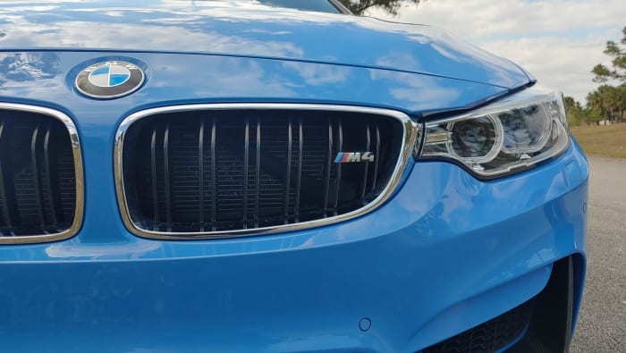 Image #2 of our 2015 BMW M4 Manual Transmission (Yas Marina Blue) In Miami Fort Lauderdale Palm Beach South Florida