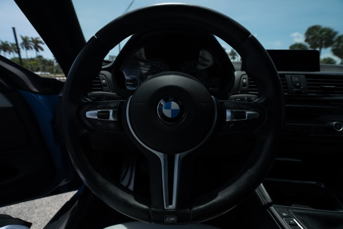 Image #5 of our 2015 BMW M4 Manual Transmission (Yas Marina Blue) In Miami Fort Lauderdale Palm Beach South Florida