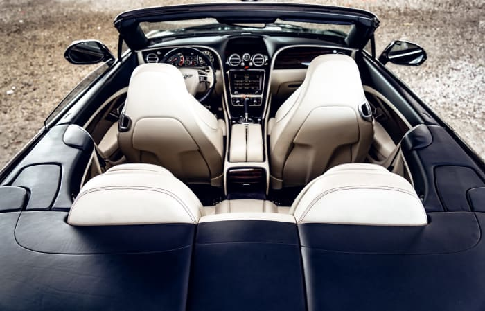 Image #4 of our 2018 Bentley Continental GTC (Convertible) (Dark Blue) In Miami Fort Lauderdale Palm Beach South Florida