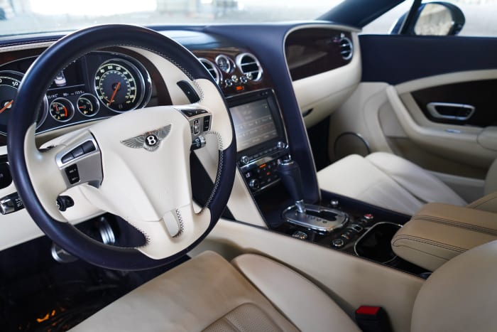Image #2 of our 2018 Bentley Continental GTC (Convertible) (Dark Blue) In Miami Fort Lauderdale Palm Beach South Florida