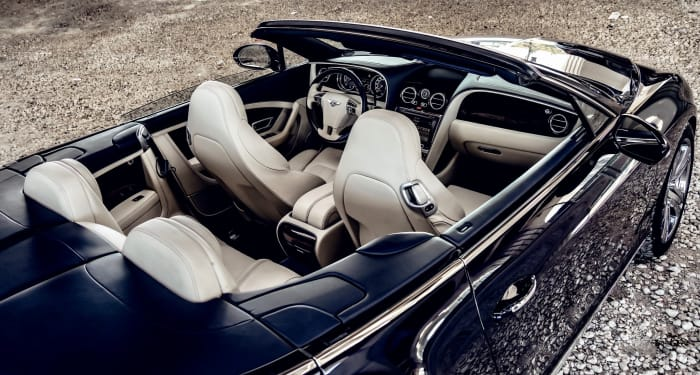 Image #5 of our 2018 Bentley Continental GTC (Convertible) (Dark Blue) In Miami Fort Lauderdale Palm Beach South Florida