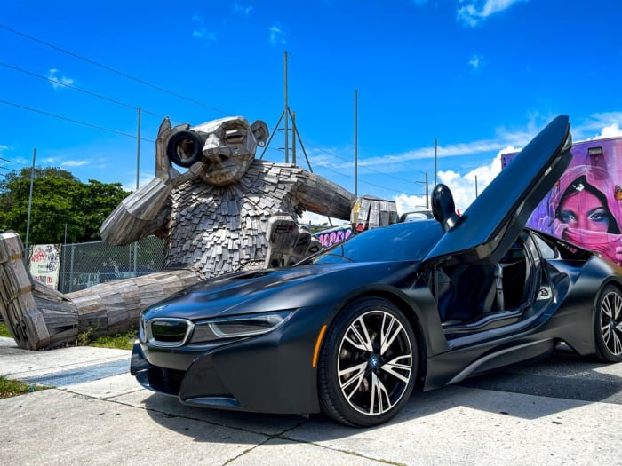 Image #3 of our 2018 BMW I8  (Dark Gray) In Miami Fort Lauderdale Palm Beach South Florida