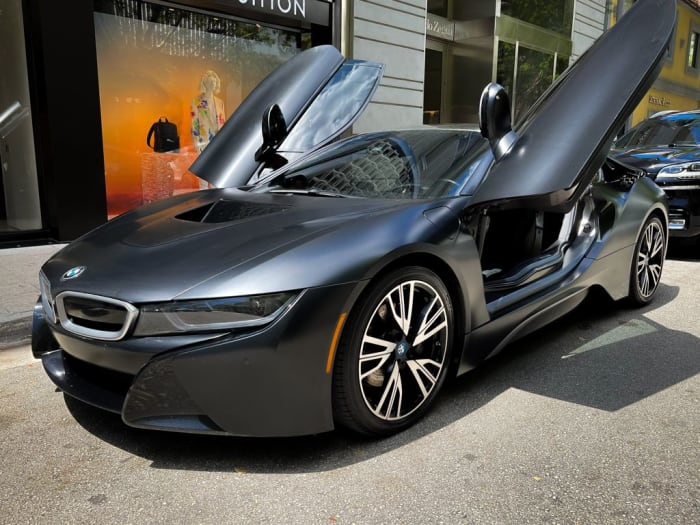 Image #0 of our 2018 BMW I8  (Dark Gray) In Miami Fort Lauderdale Palm Beach South Florida
