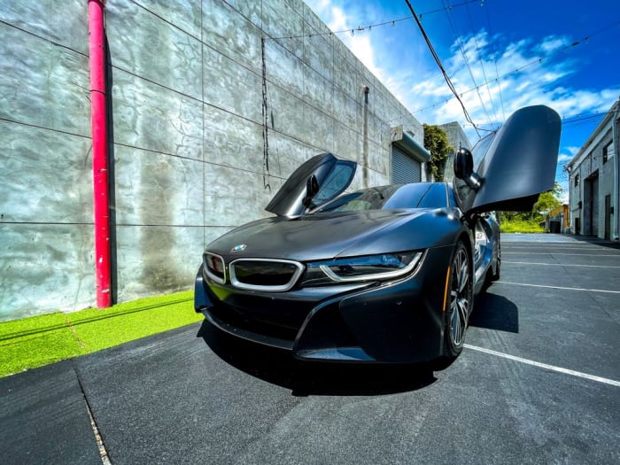Image #1 of our 2018 BMW I8  (Dark Gray) In Miami Fort Lauderdale Palm Beach South Florida