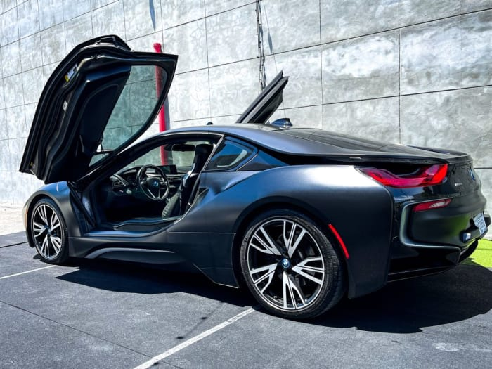 Image #2 of our 2018 BMW I8  (Dark Gray) In Miami Fort Lauderdale Palm Beach South Florida