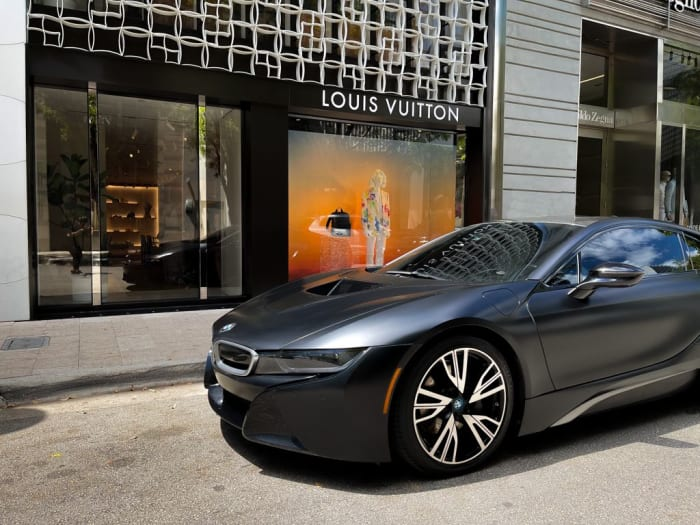 Image #5 of our 2018 BMW I8  (Dark Gray) In Miami Fort Lauderdale Palm Beach South Florida
