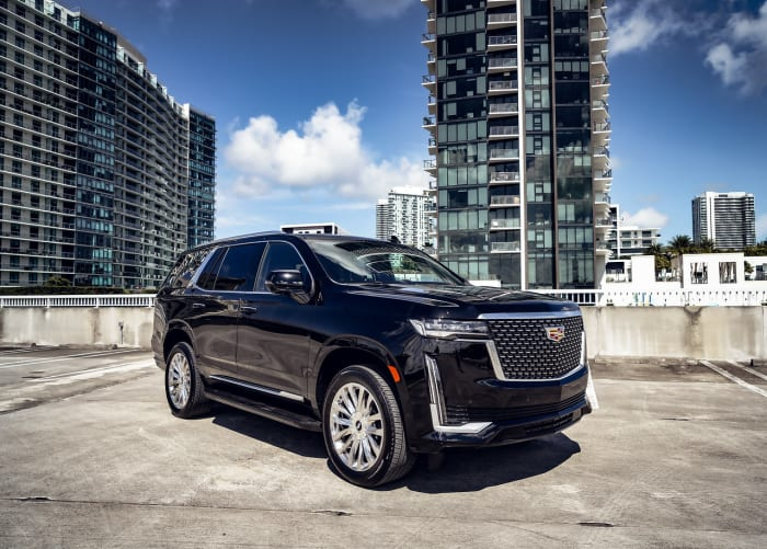 Image #0 of our 2021 Cadillac Escalade Premium Luxury  (Black) In Miami Fort Lauderdale Palm Beach South Florida