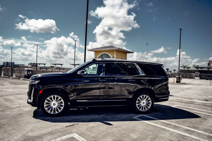 Image #1 of our 2021 Cadillac Escalade Premium Luxury  (Black) In Miami Fort Lauderdale Palm Beach South Florida