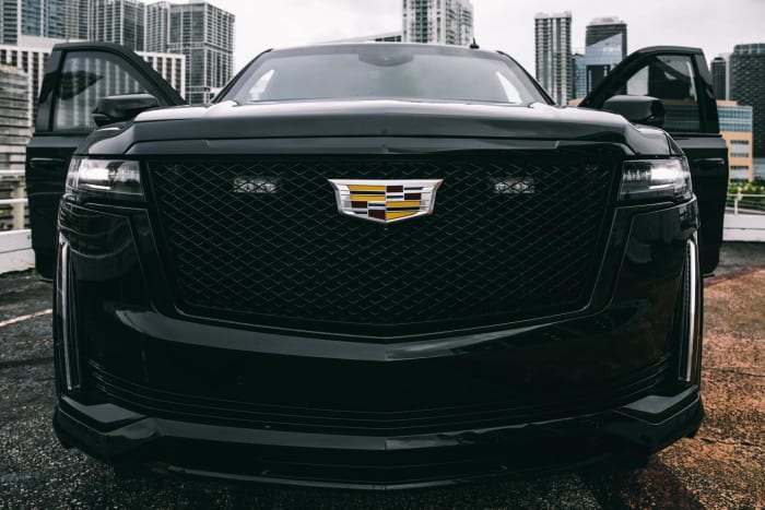 Image #0 of our 2021 Cadillac Escalade Armored Armored (Black) In Miami Fort Lauderdale Palm Beach South Florida