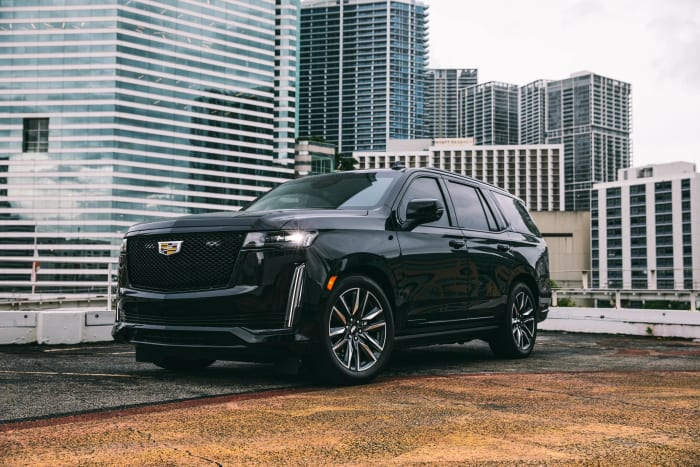 Image #1 of our 2021 Cadillac Escalade Armored Armored (Black) In Miami Fort Lauderdale Palm Beach South Florida
