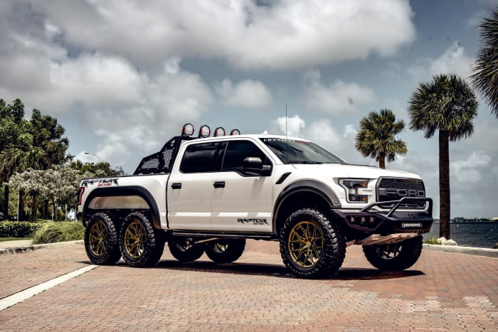 Image #0 of our 2018 Ford Raptor 6x6 6x6 (White) In Miami Fort Lauderdale Palm Beach South Florida