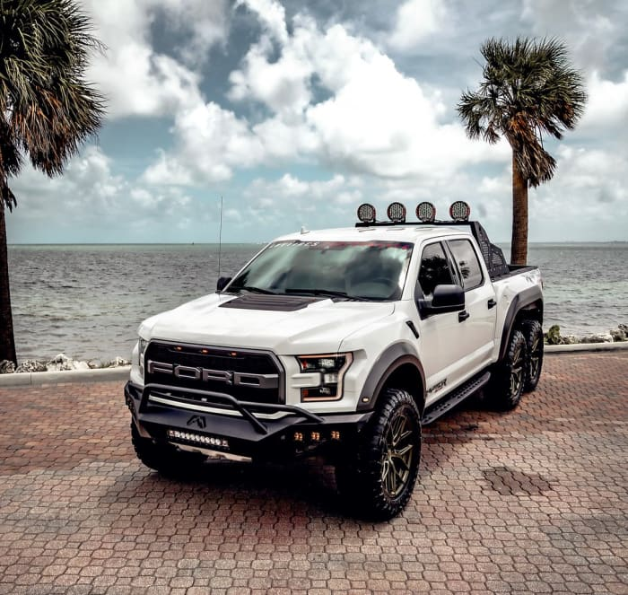 Image #1 of our 2018 Ford Raptor 6x6 6x6 (White) In Miami Fort Lauderdale Palm Beach South Florida