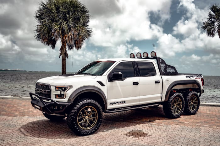 Image #2 of our 2018 Ford Raptor 6x6 6x6 (White) In Miami Fort Lauderdale Palm Beach South Florida