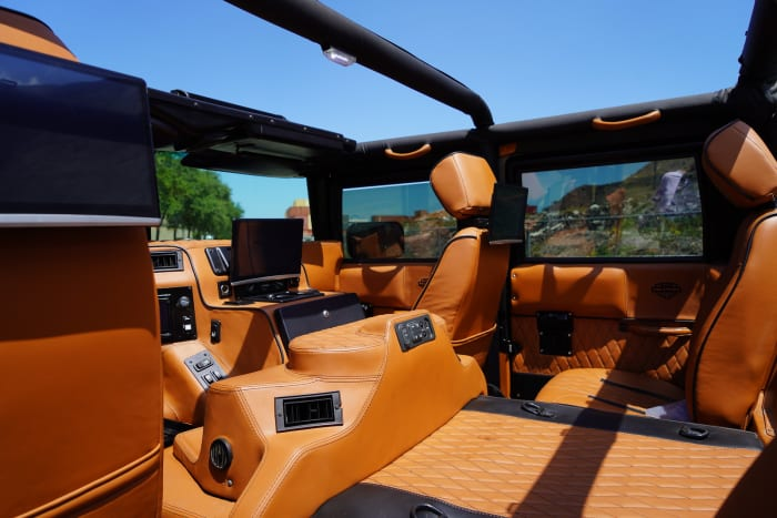 Image #1 of our 2000 Hummer H1 Alpha  (Black) In Miami Fort Lauderdale Palm Beach South Florida