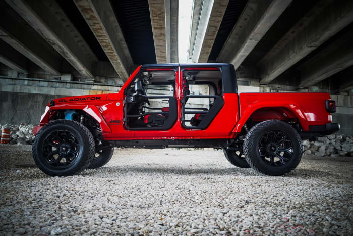 Image #8 of our 2018 Jeep Gladiator  (Red) In Miami Fort Lauderdale Palm Beach South Florida