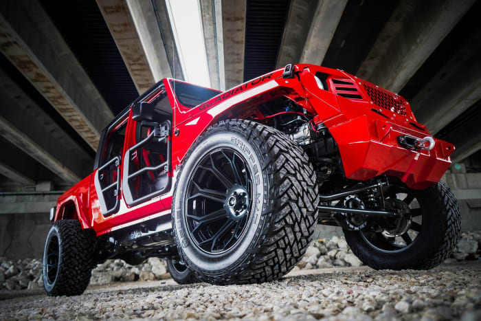 Image #3 of our 2018 Jeep Gladiator  (Red) In Miami Fort Lauderdale Palm Beach South Florida