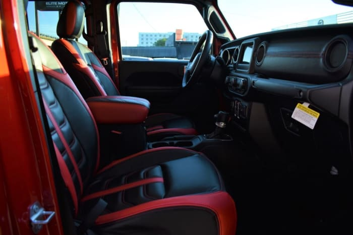 Image #2 of our 2018 Jeep Gladiator  (Red) In Miami Fort Lauderdale Palm Beach South Florida