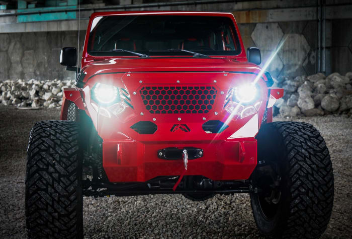 Image #4 of our 2018 Jeep Gladiator  (Red) In Miami Fort Lauderdale Palm Beach South Florida