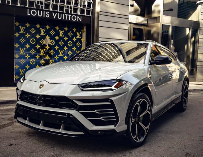 Image #1 of our 2021 Lamborghini Urus  (Dove Gray) In Miami Fort Lauderdale Palm Beach South Florida