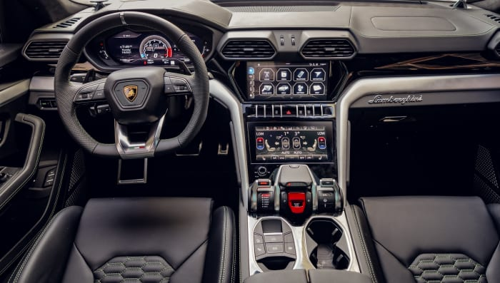 Image #4 of our 2021 Lamborghini Urus  (Dove Gray) In Miami Fort Lauderdale Palm Beach South Florida