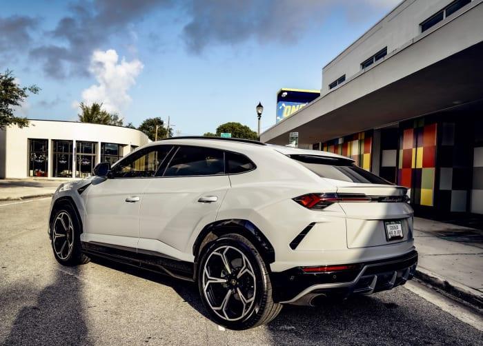 Image #3 of our 2021 Lamborghini Urus  (Dove Gray) In Miami Fort Lauderdale Palm Beach South Florida