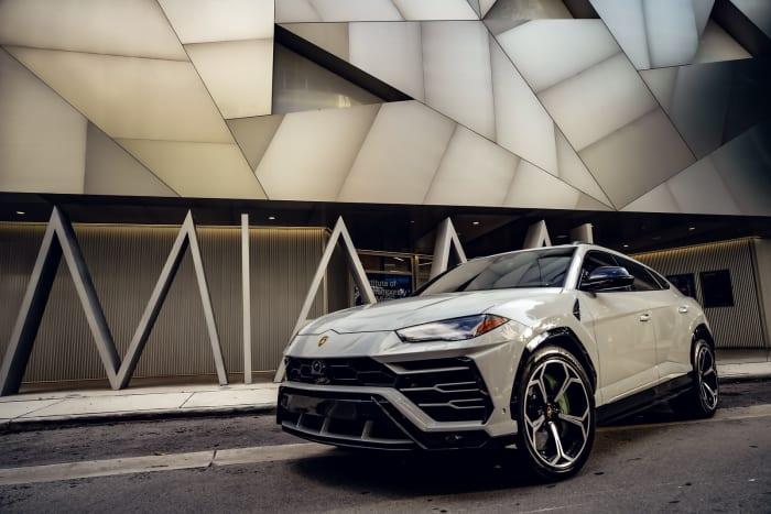 Image #0 of our 2021 Lamborghini Urus  (Dove Gray) In Miami Fort Lauderdale Palm Beach South Florida