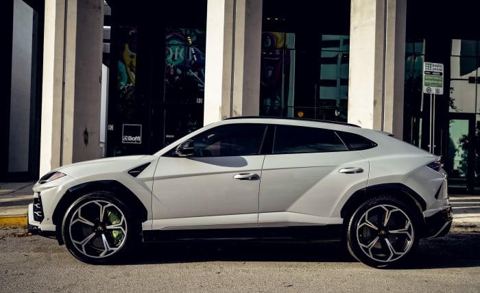 Image #2 of our 2021 Lamborghini Urus  (Dove Gray) In Miami Fort Lauderdale Palm Beach South Florida