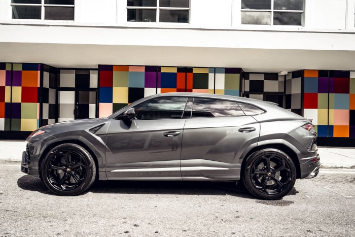 Image #2 of our 2018 Lamborghini Urus Starlight (Gray) In Miami Fort Lauderdale Palm Beach South Florida