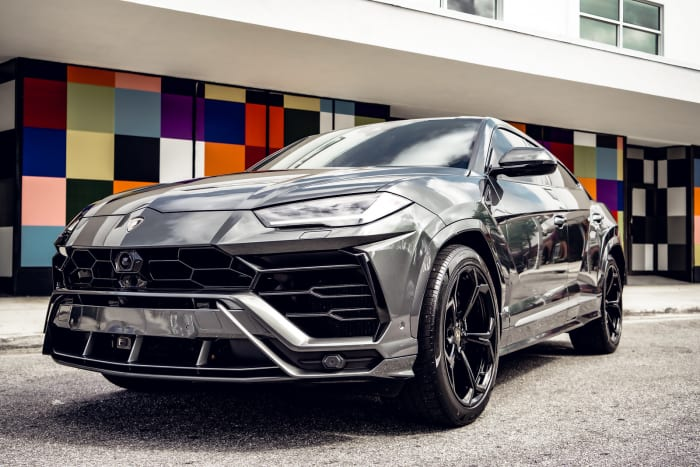 Image #0 of our 2018 Lamborghini Urus Starlight (Gray) In Miami Fort Lauderdale Palm Beach South Florida