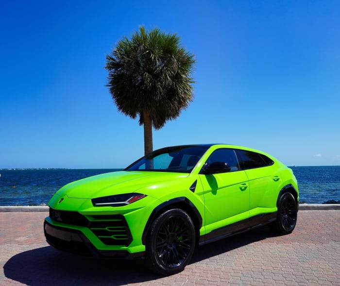 Image #0 of our 2018 Lamborghini Urus  (Green) In Miami Fort Lauderdale Palm Beach South Florida