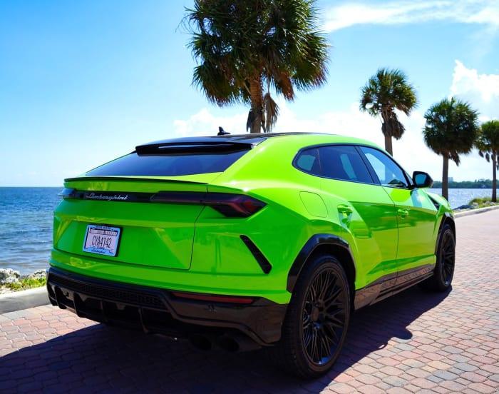 Image #3 of our 2018 Lamborghini Urus  (Green) In Miami Fort Lauderdale Palm Beach South Florida