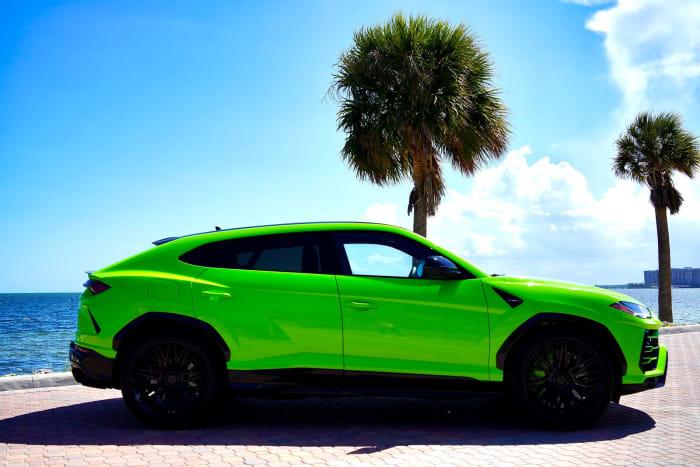 Image #1 of our 2018 Lamborghini Urus  (Green) In Miami Fort Lauderdale Palm Beach South Florida