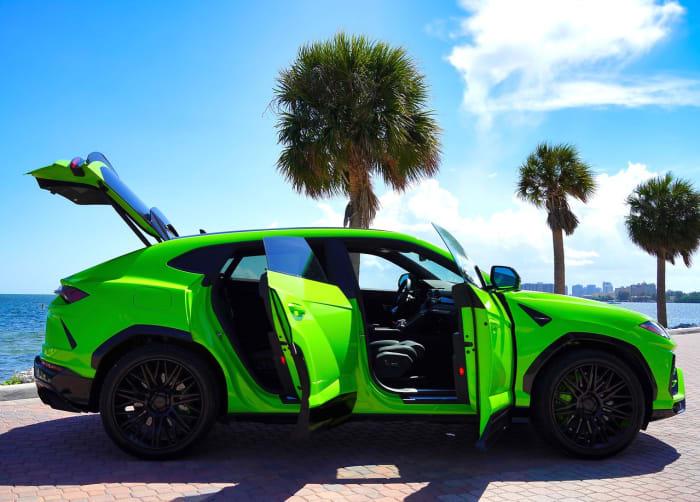 Image #2 of our 2018 Lamborghini Urus  (Green) In Miami Fort Lauderdale Palm Beach South Florida