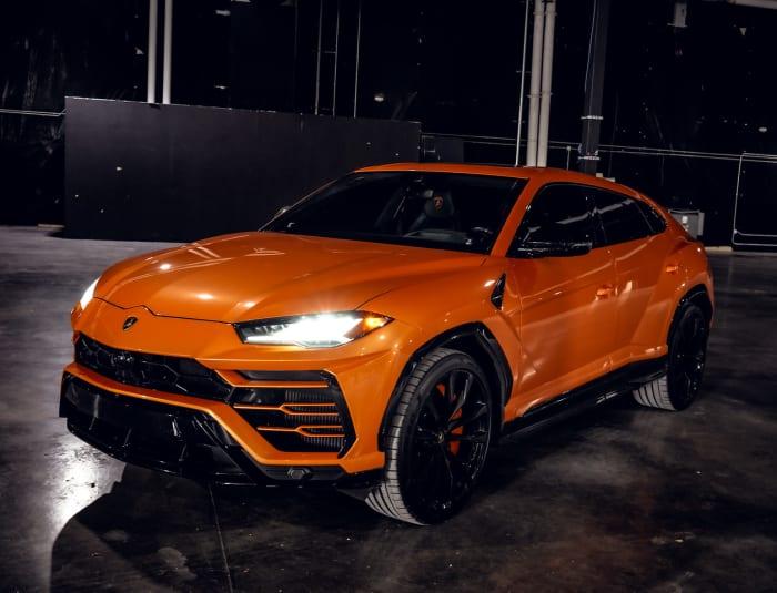 Image #0 of our 2022 Lamborghini Urus  (Orange) In Miami Fort Lauderdale Palm Beach South Florida