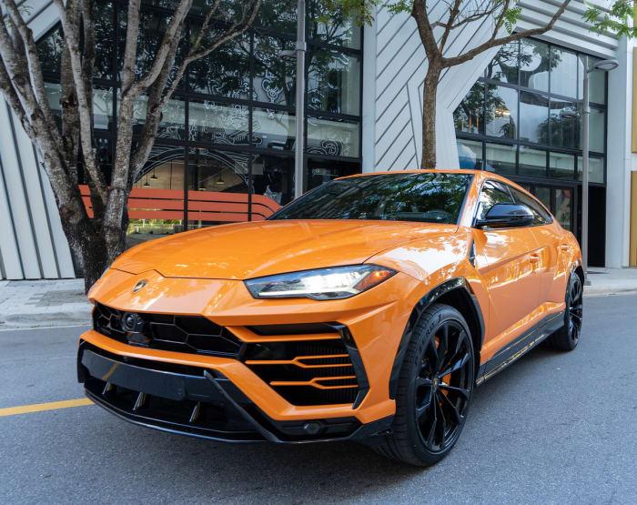 Image #1 of our 2022 Lamborghini Urus  (Orange) In Miami Fort Lauderdale Palm Beach South Florida
