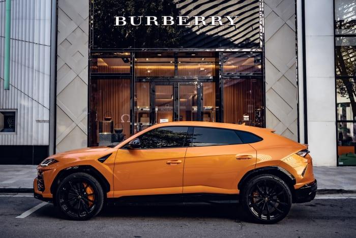 Image #2 of our 2022 Lamborghini Urus  (Orange) In Miami Fort Lauderdale Palm Beach South Florida