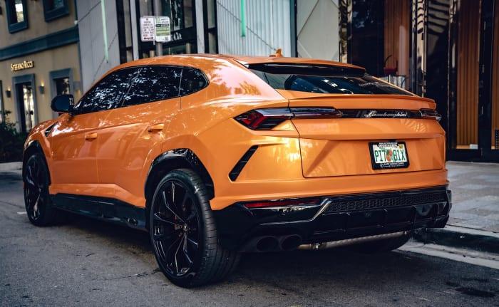 Image #3 of our 2022 Lamborghini Urus  (Orange) In Miami Fort Lauderdale Palm Beach South Florida