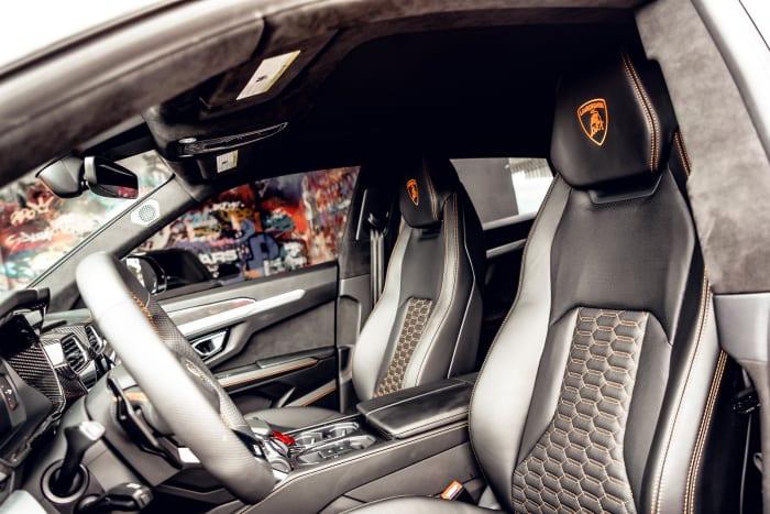 Image #5 of our 2022 Lamborghini Urus  (Orange) In Miami Fort Lauderdale Palm Beach South Florida