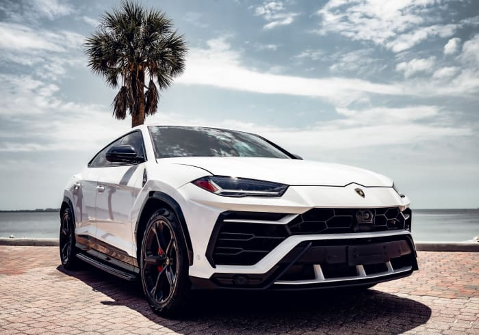 Image #1 of our 2018 Lamborghini Urus  (White) In Miami Fort Lauderdale Palm Beach South Florida