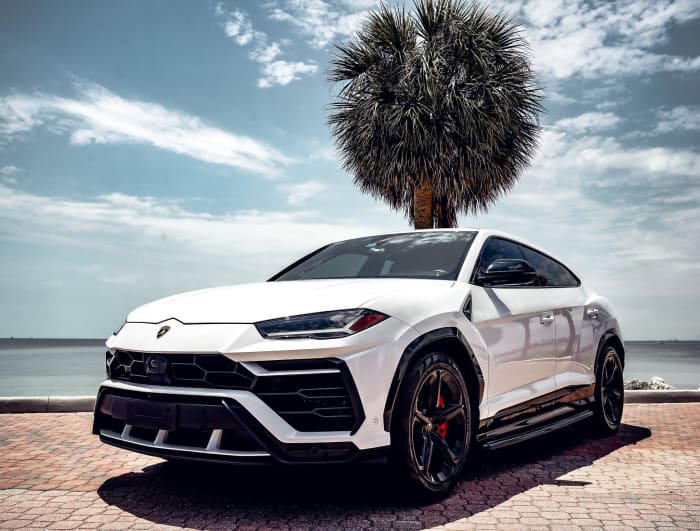 Image #0 of our 2018 Lamborghini Urus  (White) In Miami Fort Lauderdale Palm Beach South Florida