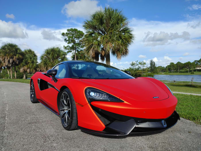 Image #14 of our 2019 McLaren 570s Spyder (Convertible) (Orange) In Miami Fort Lauderdale Palm Beach South Florida