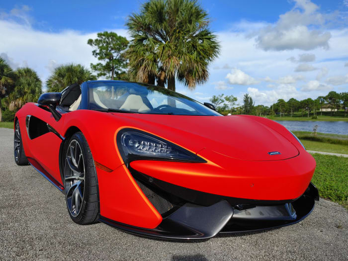 Image #15 of our 2019 McLaren 570s Spyder (Convertible) (Orange) In Miami Fort Lauderdale Palm Beach South Florida