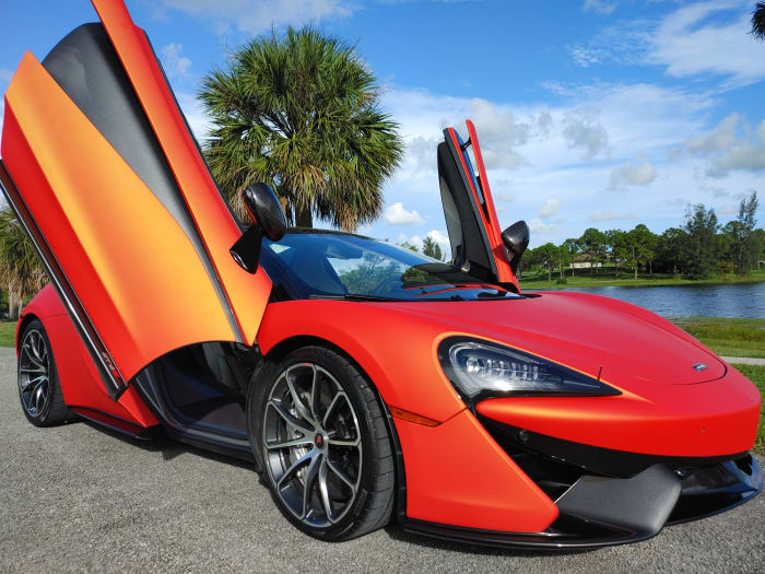 Image #10 of our 2019 McLaren 570s Spyder (Convertible) (Orange) In Miami Fort Lauderdale Palm Beach South Florida